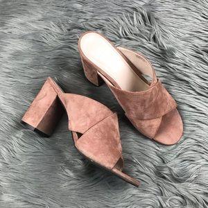 Cole Haan Shoes - Cole Haan Gabby Mule Block Heel Criss Cross Sandal